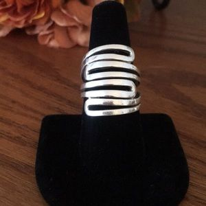 Silpada Modern Maze Ring